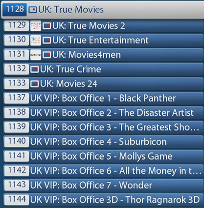 ABONNEMENT IPTV MEGA PREMIUM UK MOVIES