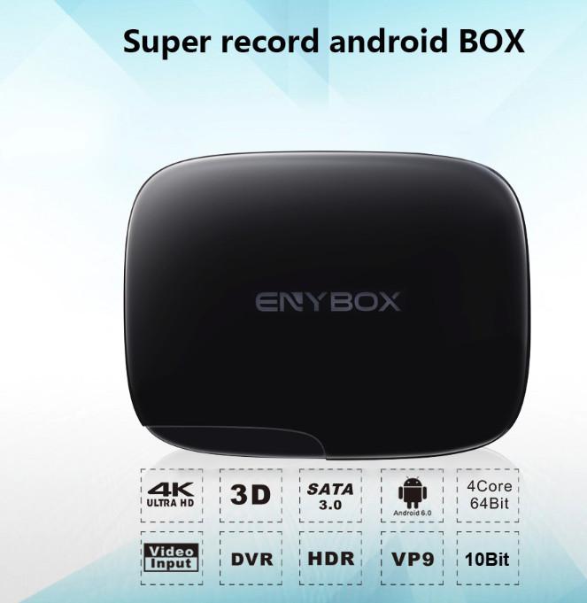 ENYBOX LA BOX ANDROID AVEC FONCTION ENREGISTREUR INTEGRE