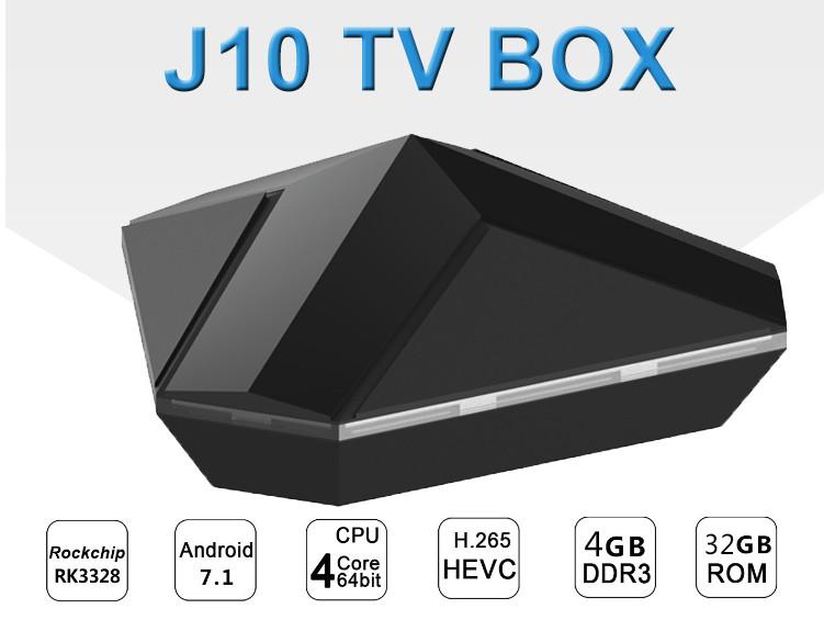 J10 ANDROID BOX DE 4GB DE RAM EXCELLENT POUR L'IPTV