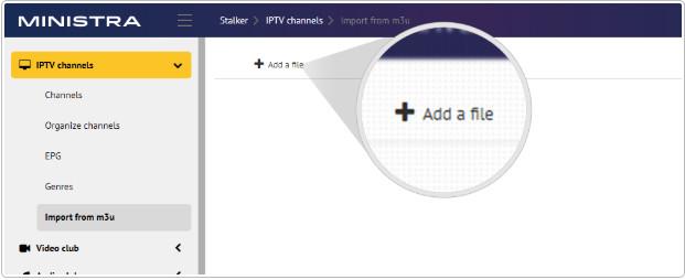COMMENT IMPORTER LA LISTE DES CHAINES IPTV