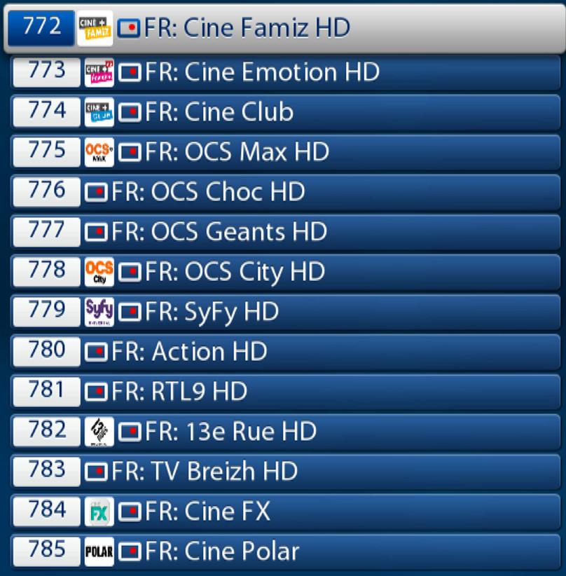 ABONNEMENT IPTV CHAINES TV FRANCOPHONES