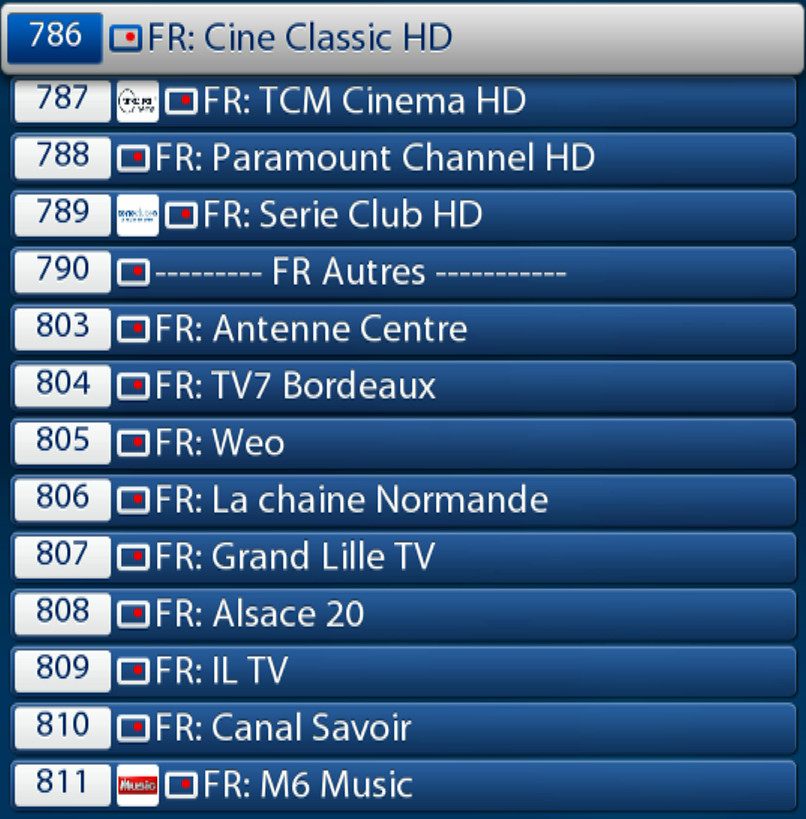 ABONNEMENT IPTV FRANCE  BOX