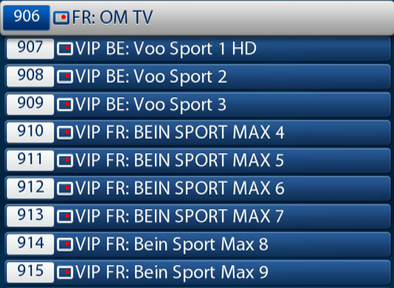 ABONNEMENT IPTV MEGA PREMIUM FRANCE SPORTS3