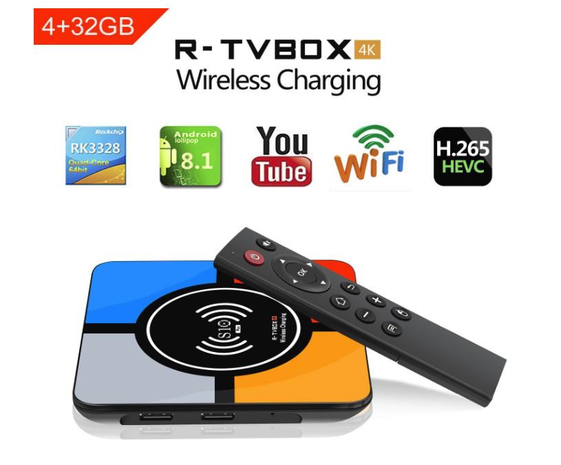 R-TV BOX PLUS S10 EST ACTUELLEMENT l'Une des premières TV Box sur Android 8.1