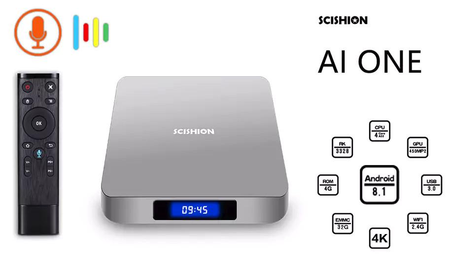 AI ONE ANDROID BOX DE 4GB DE RAM
