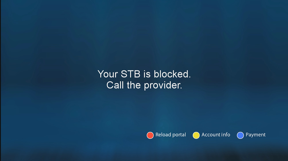 YOUR STB IS BLOCKED HERE IS THE SOLUTION IN FEW SECONDES